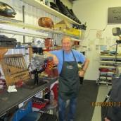 Former customer who built 80% of his café Norton, now a Wed nite regular RAT.