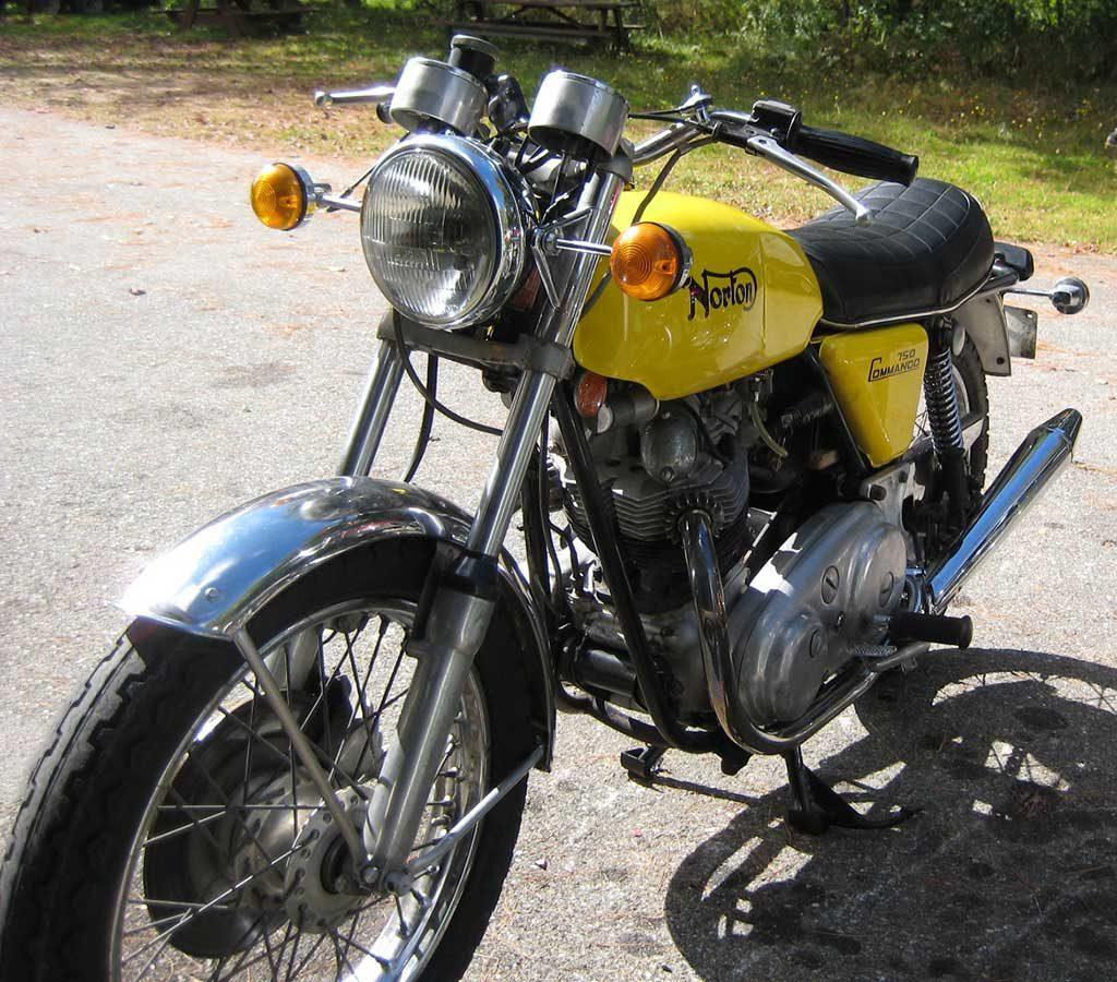 1972 Norton Commando Roadster