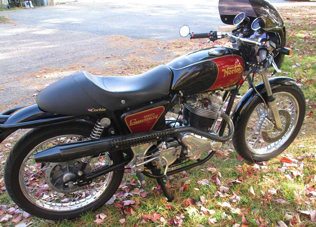1974 Norton Commando with Alton Electric Start
