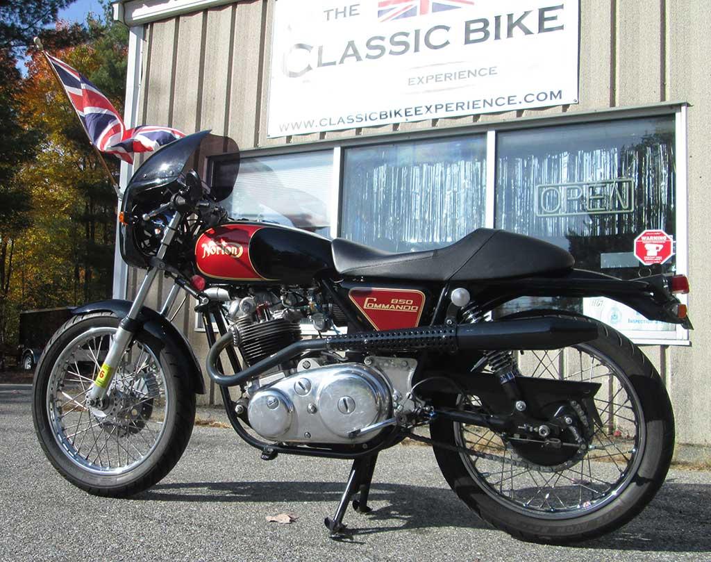 1974 Norton Commando With Alton Electric Start Classic Bike Experience