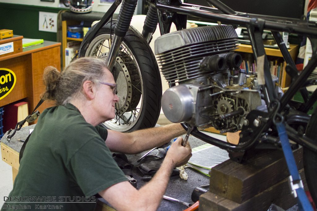 Classic Bike Experience Guild Motorcycle Restoration Triumph Norton Velocette in Vermont