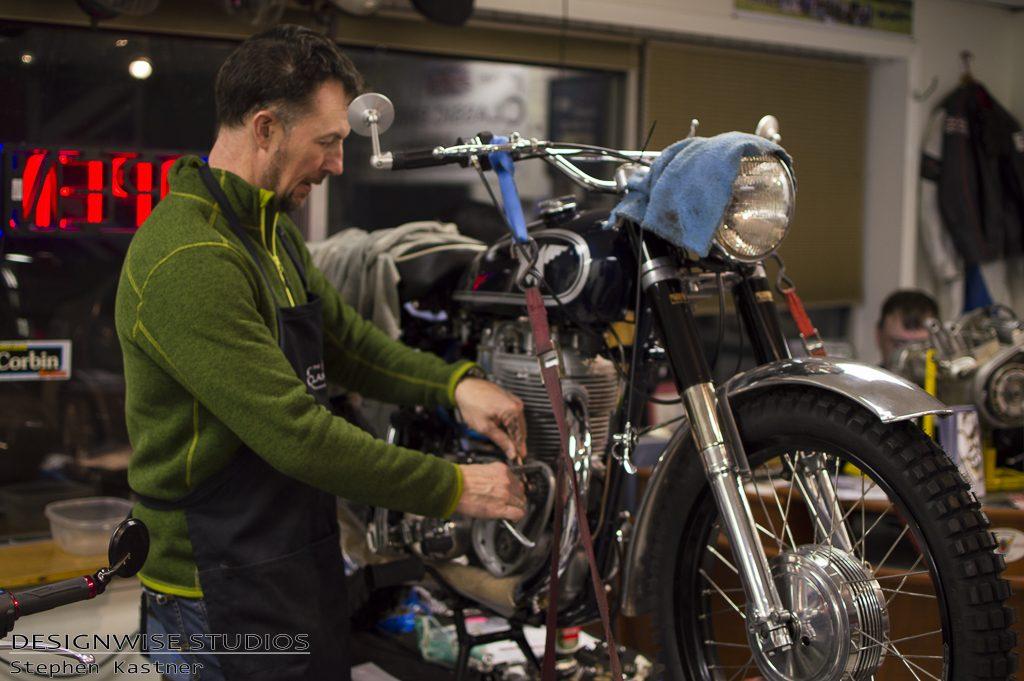 Classic Bike Experience Guild Motorcycle Restoration Triumph Norton Velocette in Vermont